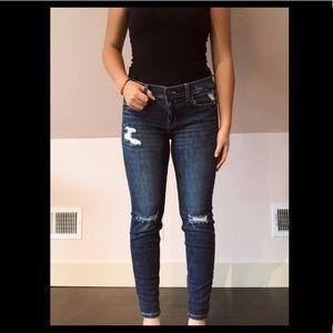 sexy boyfriend style skinny jeans